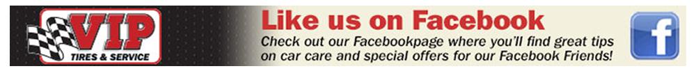 VIP Tires & Service Facebook